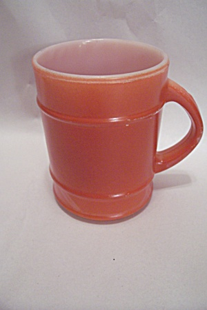 FireKing/Anchor Hocking Dark Orange Ranger Mug (Image1)