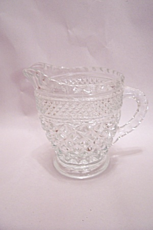 Anchor Hocking/FireKing Wexford Pattern Creamer (Image1)