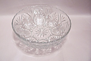 Anchor Hocking Crystal Glass Vegetable Bowl (Image1)