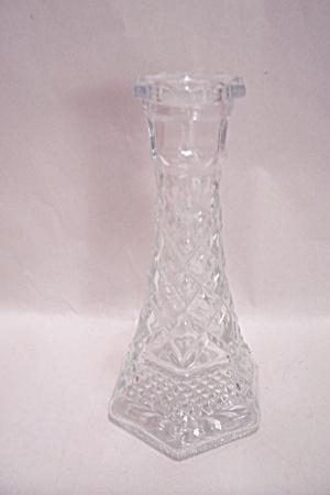 Wexford Pattern Crystal Glass Bud Vase/Candlestick (Image1)