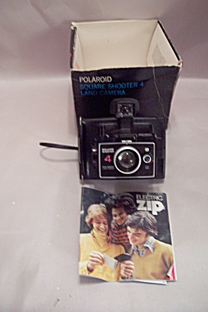 Polaroid Square Shooter 4 Instant Land Camera (Image1)
