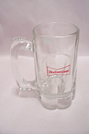 Budweiser Crystal Glass Beer Mug
