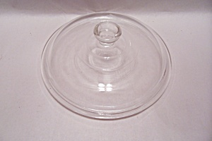 FireKing/Anchor Hocking Crystal Glass Knob Lid (Image1)