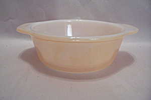 Fireking/anchor Hocking Copper Tint One Pint Casserole