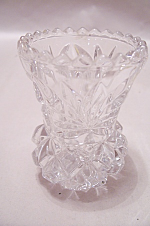 Crystal Glass Pineapple Design Toothpick Holder (Image1)