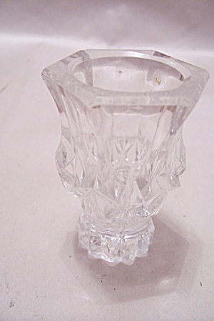 Six-Sided Crystal Glass Toothpick Holder (Image1)
