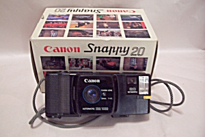 Canon Snappy 50/20 35mm Rangefinder Film  Camera (Image1)