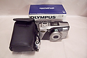 Olympus Superzoom 115 35mm Rangefinder Film Camera