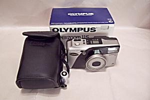 Olympus Superzoom 115  35mm Rangefinder Film Camera (Image1)
