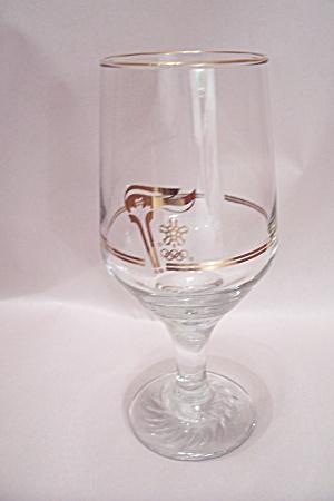 Calgary Olympics Souvenir Wine Glass (Image1)