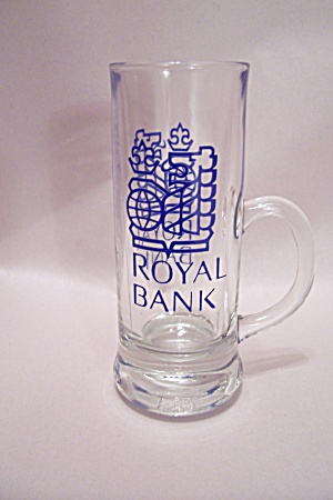 Royal Bank Of Canada Cordial Crystal Glass With Handle