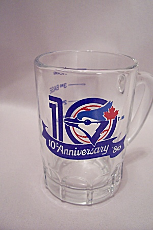 Toronto Bluejays Baseball  Crystal Souvenir Shot Glass (Image1)
