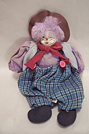 Cloth Body Clown Doll (Image1)