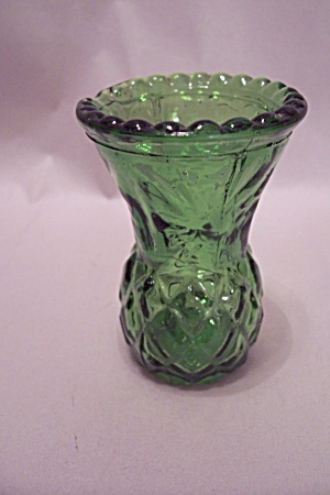 Green Glass Pineapple Design Toothpick Holder (Image1)