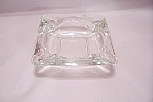 Fireking?anchor Hocking Crystal Glass Ashtray