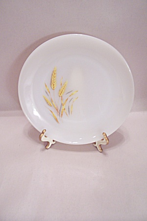 FireKing/Anchor Hocking Wheat Pattern Glass Salad Plate (Image1)