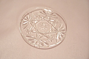 Anchor Hocking EAPC Crystal Glass Coaster (Image1)