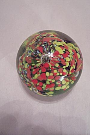 Art Glass Handmade Paperweight (Image1)