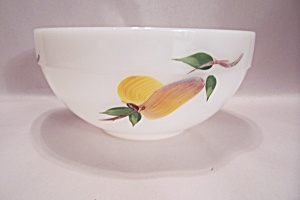 FireKing Gay Fad Studio Fruit Pattern Mixing Bowl (Image1)