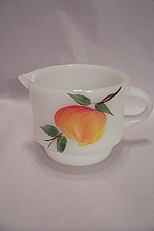 FireKing Gay Fad Studio Fruit Pattern Stackable Creamer (Image1)