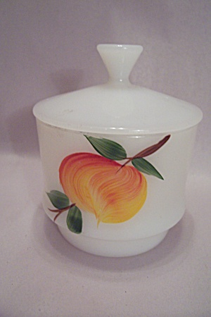 Fireking Gay Fad Studio Fruit Pattern Stackable Sugar
