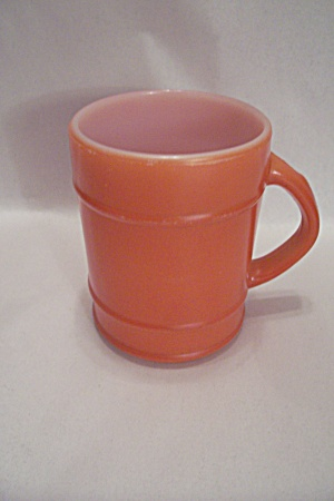 FireKing/Anchor Hocking Orange Ranger Mug (Image1)