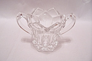 Crystal Glass Handled & Footed Toothpick Holder (Image1)