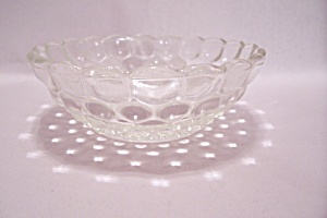 FireKing/Anchor Hocking Bubble Pattern Berry Bowl (Image1)