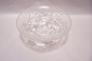 FireKing/Anchor Hocking EAPC Crystal 3-Toed Bowl (Image1)