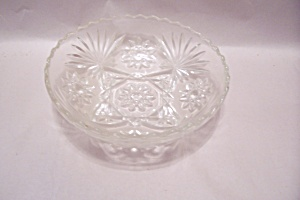FireKing/Anchor Hocking EAPC Crystal Glass Serving Bowl (Image1)