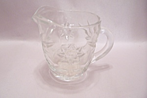 FireKing/Anchor Hocking EAPC Crystal Glass Creamer (Image1)