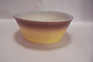 FireKing/Anchor Hocking Beige & Brown Cereal Bowl (Image1)