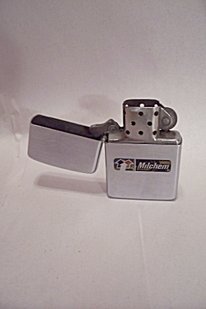 Zippo Advertising Pocket Lighter For Milchem (Image1)