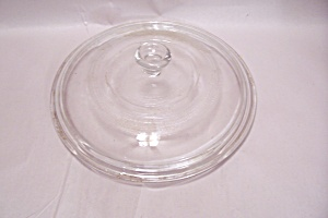 Crystal Glass Round Casserole & Oven Lid