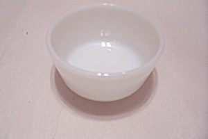 FireKing/Anchor Hocking White Glass Ovenware Custard (Image1)