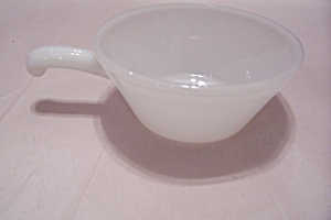 FireKing/Anchor Hocking White Glass Ovenware Casserole (Image1)