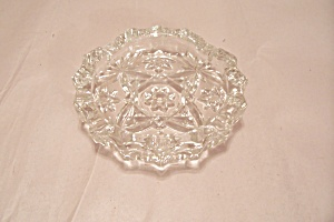 Fireking/anchor Hocking Eapc Crystal Glass Ash Tray