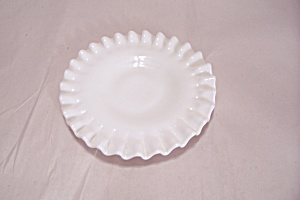 Fenton Milk White Art Glass Dish (Image1)
