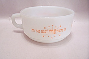 FireKing/Anchor Hocking Milk White Themed Soup Bowl (Image1)