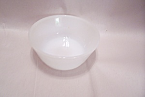 FireKing/Anchor Hocking Milk White Glass Dessert Bowl (Image1)