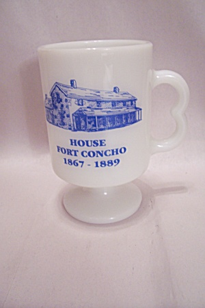 Fireking/anchor Hocking Souvenir Mug For Fort Concho