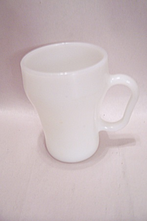 Fireking/anchor Hocking White Cola Mug