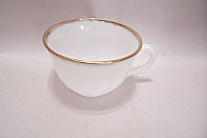Fireking/anchor Hocking Golden Anniversary Swirl Cup