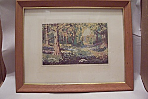 A French Garden Art Print By Dwight David Eisenhower Art Prints Limited Editions At Fort Logan Antiques And Collectibles