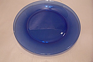 Anchor Hocking Cobalt Blue Glass Dinner Plate