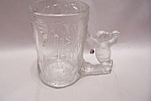 Coca Cola Polar Bear Crystal Glass Mug (Image1)