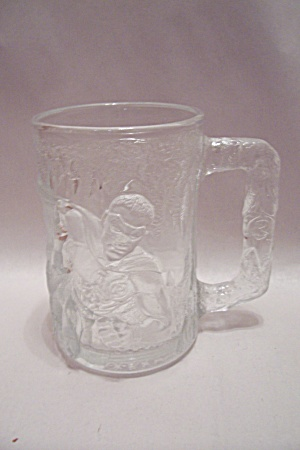 Mcdonald's Batman Forever - Robin - Crystal Glass Mug