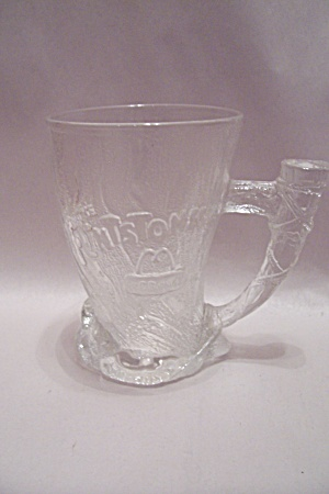 Mcdonald's Flintstones Crystal Glass Mammoth Mug