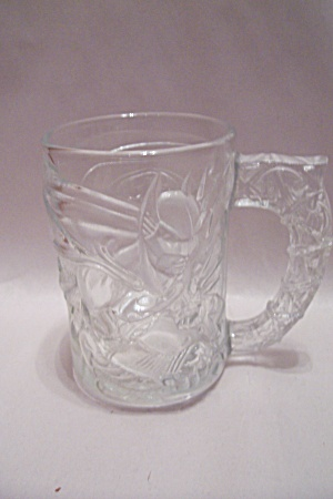Mcdonald's Batman Forever - Batmam - Crystal Glass Mug
