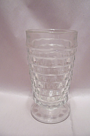 Whitehall Pattern Crystal Glass Footed Tumbler (Image1)
